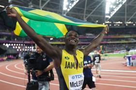 IAAF World Championships: McLeod Wins World Title, Merritt's Dream Dashed