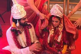Riya Sen Marries Her Long-Time Boyfriend Shivam Tiwari; See Pics