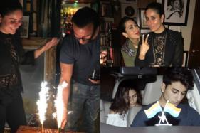 Sara, Ibrahim, Karisma Join Saif-Kareena For The Actor's Birthday