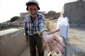 Across Syrian Border, Lebanese Salt Farmers Weep Over Their Drying Prospects