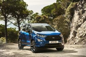 2018 Ford EcoSport Revealed, Gets a New Sporty ST-Line Model