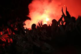 Police Arrest Four After Crowd Trouble Delays Arsenal's Europa League Clash