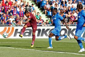 Paulinho Nets Late Winner as Barcelona Edge Getafe