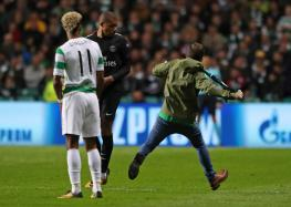 Celtic Charged by UEFA Over Pitch Invasion