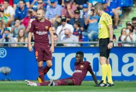 Barca's Record Signing Dembele Undergoes Surgery, Out for 14 Weeks