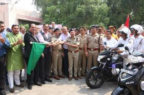 Hero MotoCorp Partners With Uttar Pradesh Police, Presents New Two-Wheelers