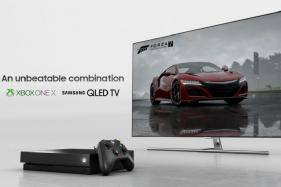Xbox One X, Samsung QLED TVs Team up For 'True 4K Gaming'
