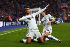 Alvaro Morata, N'Golo Kante Score As Chelsea Edge Leicester