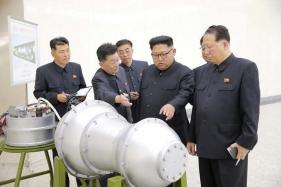 Kim Jong-Un Praises Nuke Programme, Promotes Sister to Centre of Power