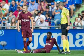 Barcelona Star Dembele to Undergo Surgery on Tuesday