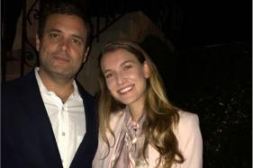 Rahul Gandhi's Pic With Spanish Actress Creates Flutter on Social Media