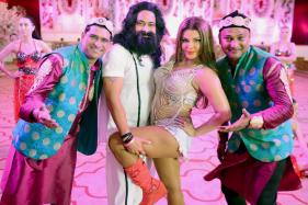 Rakhi Sawant playing 'Papa's Angel' Honeypreet Insan
