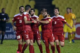 War-Ravaged Syria on Verge of Historic World Cup Qualification