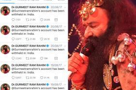 Verified Twitter Account Of Rapist Gurmeet Ram Rahim Singh Withheld