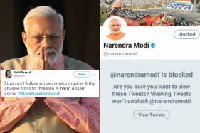 Angry Over PM Following 'Trolls', Twitter Trends #BlockNarendraModi