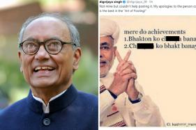 Digvijaya Singh Faces Backlash After Posting 'Abusive' Meme Against Modi