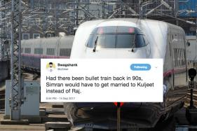 Bullet Train Maybe Fast But Twitterati Is Faster With Jokes. Here's Proof.