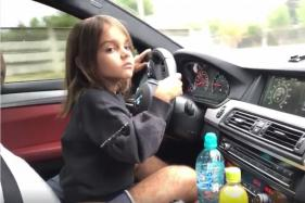 Video – Little Girl Drives BMW M5, Laughs in Excitement