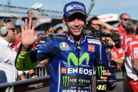 Legendary Rossi Back on Bike 18 Days After Double Leg Fracture