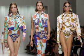 Versace women's Spring/Summer 2018 Fashion Show in Milan