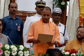 UP CM Yogi Adityanath Takes Oath as MLC Along with his Deputies and Ministers