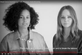 Alicia Keys Stars in Breast Cancer Campaign For Stella McCartney