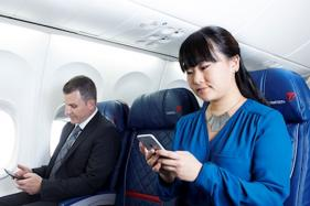 Now Text Friends, Family For Free Aboard This Airline