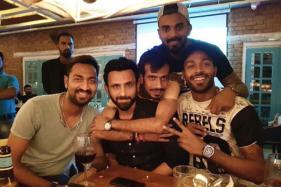 Hardik Pandya Paints Bengaluru Red With Brother and Buddies