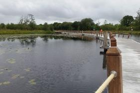 New Floating Boardwalk Opens in Ireland