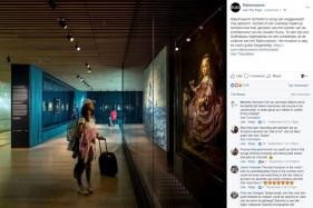 Amsterdam Airport Hosts Art Exhibit From Dutch Masters
