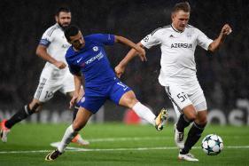 Champions League: Rampant Chelsea Hit Qarabag for Six