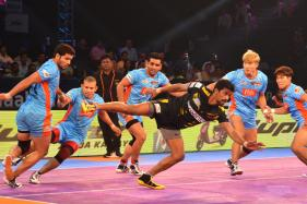 Pro Kabaddi League 2017: Warriors Edges Past Titans in a Thriller