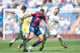Real Madrid Held by Levante as Marcelo Sees Red
