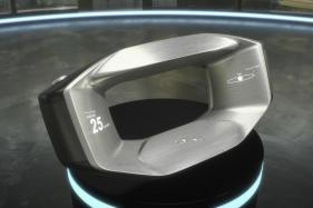 Jaguar Land Rover's Futuristic Steering Wheel Design