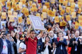 New Challenge Awaits Totti at AS Roma