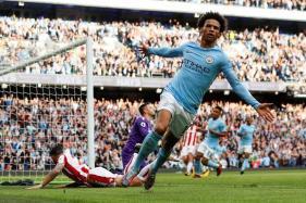 Premier League: City Hammer Seven Past Stoke; Palace Stun Chelsea