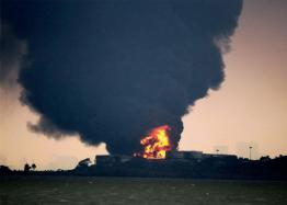 Explosion Risk for Oil Tanker Ablaze off China