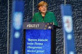 Angela Merkel Pushes For 3-way 'Jamaica' Coalition in Germany