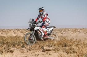 CS Santosh, Rodrigues and Mena in Hero MotoSports Team for Dakar 2018