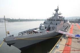 Indian Navy Gets New, Made in India, Anti-Submarine Warfare Ship