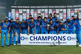 Ton-up Rohit Guides India to 4-1 Series Win Over Aus & No.1 ODI Spot