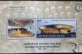 Two Postage Stamps Mark Mumbai Airport's Platinum Jubilee