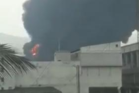 Major Fire Breaks Out at Chemical Factory in Navi Mumbai's Turbhe MIDC Area
