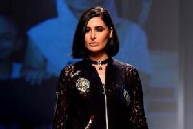 AIFW 2017: Nargis Fakhri Walks the Ramp at Amazon India Fashion Week in Delhi