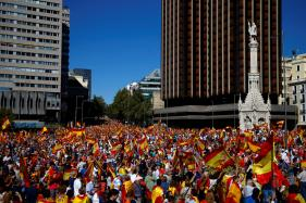 Spaniards Take to Streets as Catalonia Independence Tensions Rise