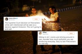 Twitter Has A Field Day After Supreme Court Bans Crackers In Delhi-NCR