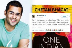 Chetan Bhagat Is Upset With Supreme Court's Decision To Ban Firecrackers