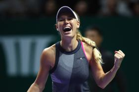 Caroline Wozniacki Survives Scare to Face Goerges in Auckland Final