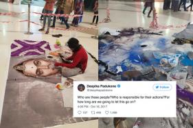 Deepika Padukone Slams Those Who Destroyed Padmavati Rangoli