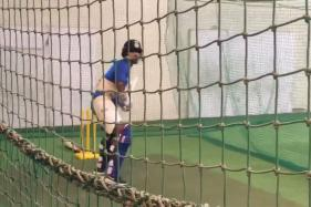 India vs Australia: Shikhar Dhawan Practices Hard Ahead of T20I Series